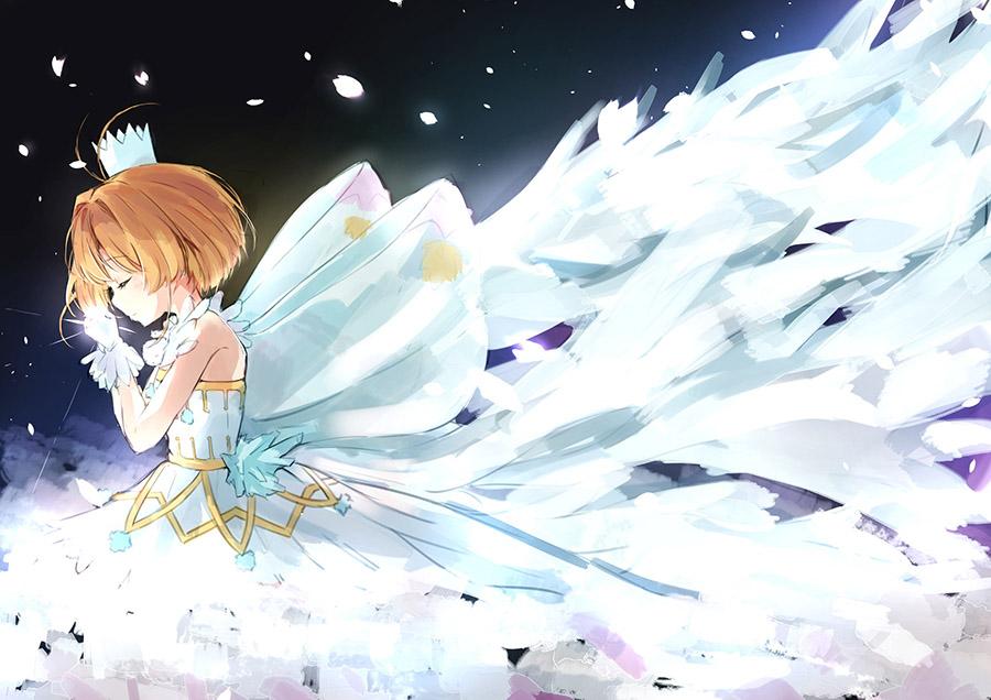 Công chúa Sakura đẹp nhất trong bộ váy ấn tượng và đẹp nhất