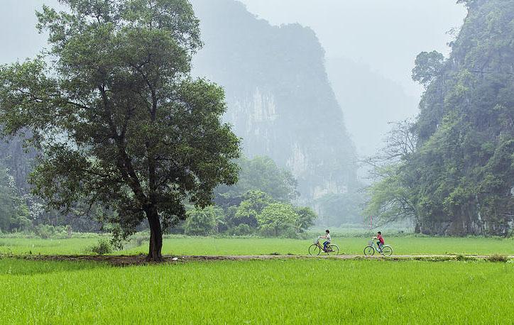 Cuộc sống quê hương Việt Nam với núi non trùng điệp ấn tượng