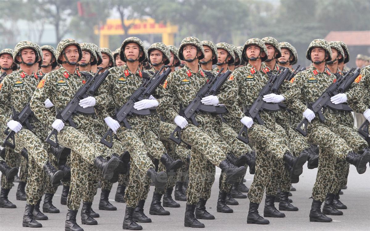 Đặc công Việt Nam binh chủng đặc biệt đẹp nhất