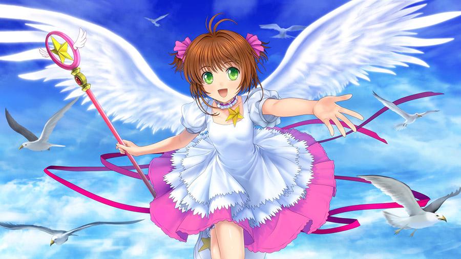 Đôi cánh thiên thần Sakura đẹp và dễ thương
