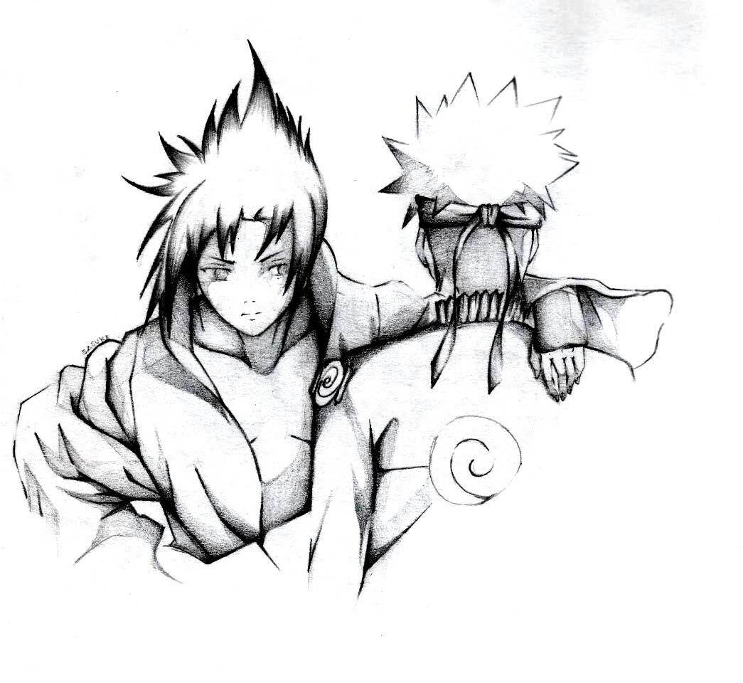 Hình ảnh anime boy naruto
