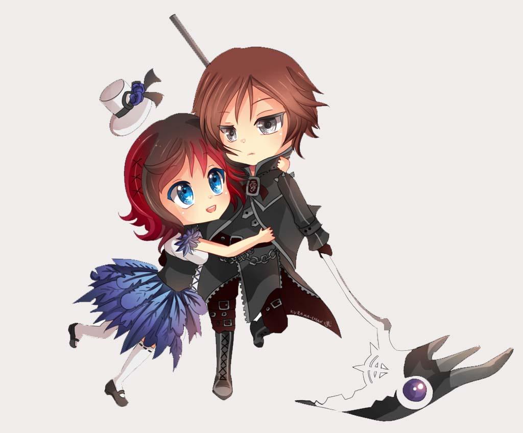 Hình ảnh anime chibi cặp đôi