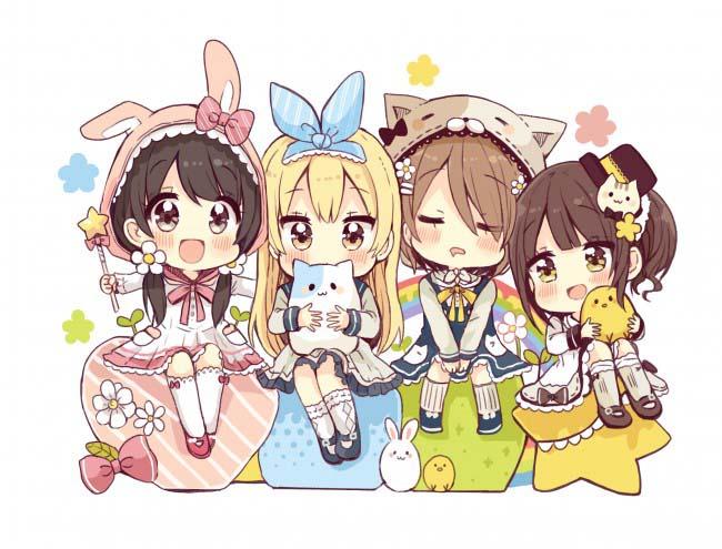 Hình ảnh anime chibi girl
