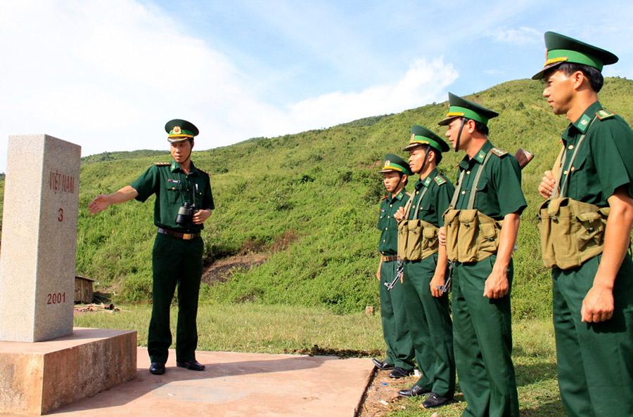 Hình ảnh bộ đội biên phòng