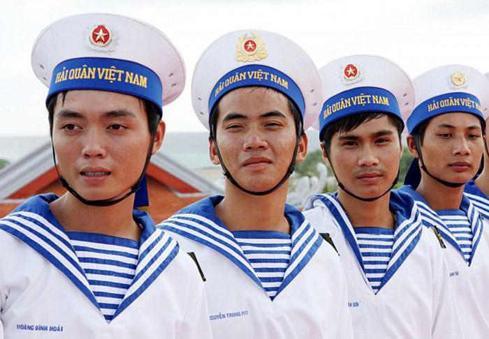 Hình ảnh bộ đội hải quân ở trường sa
