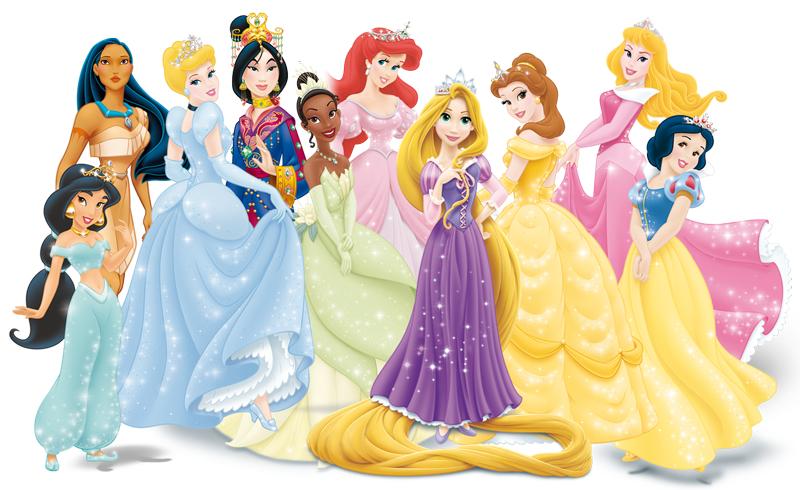 Hình ảnh các công chúa