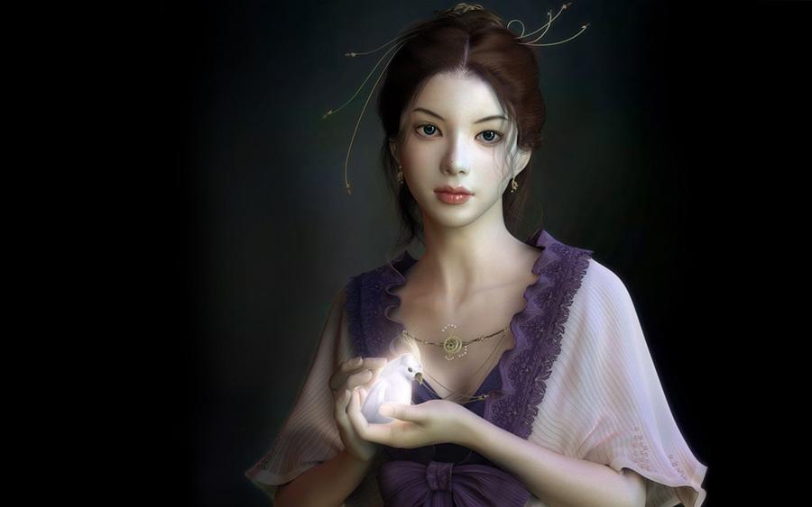 Hình ảnh công chúa 3D