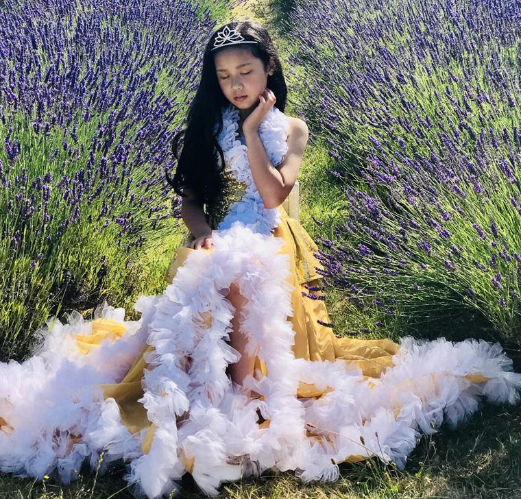 Hình ảnh công chúa nhí