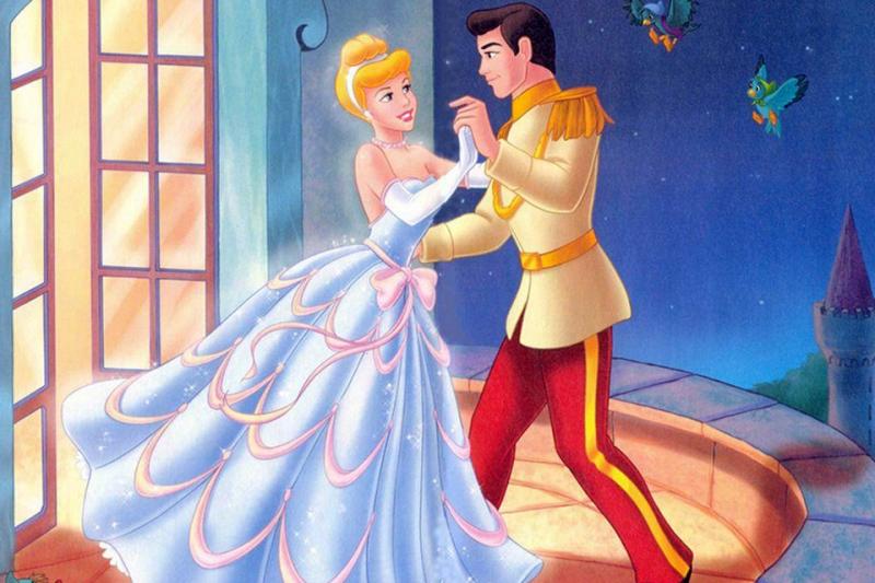Hình ảnh công chúa và hoàng tử