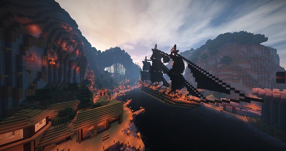 Hình ảnh đẹp của minecraft