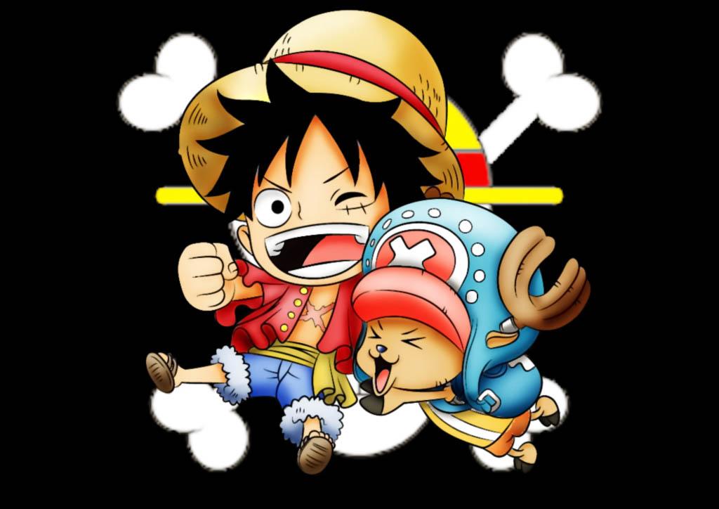 Hình ảnh đẹp Luffy Chopper