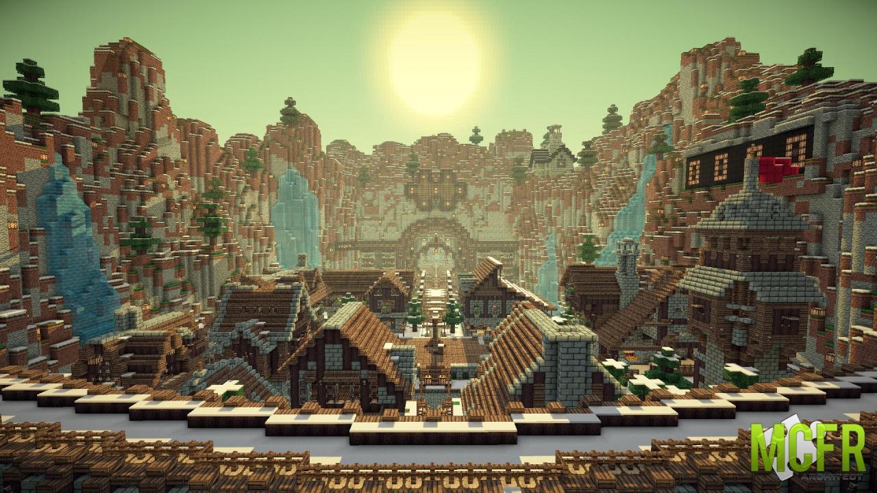 Hình ảnh đẹp ở minecraft