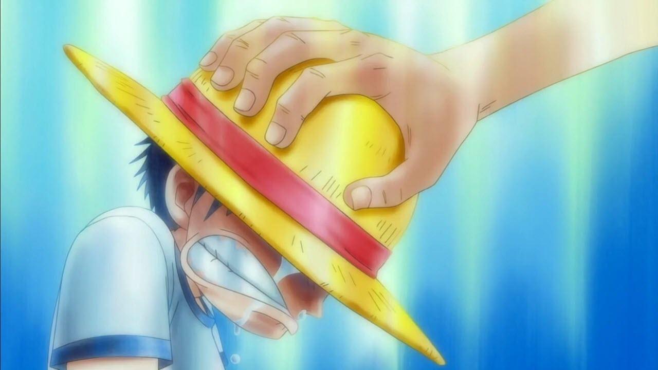 Hình ảnh Luffy buồn