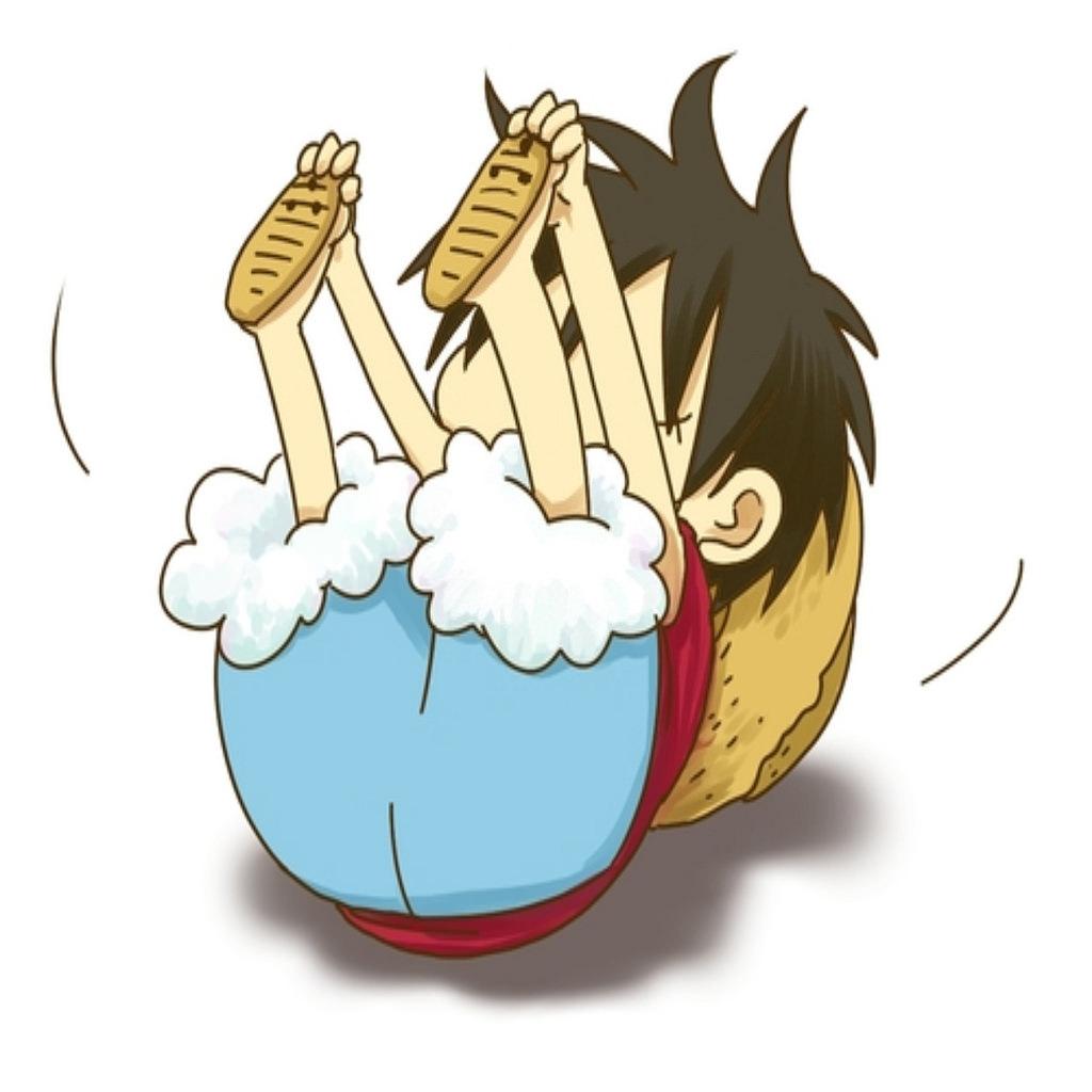 Hình ảnh Luffy chibi dễ thương