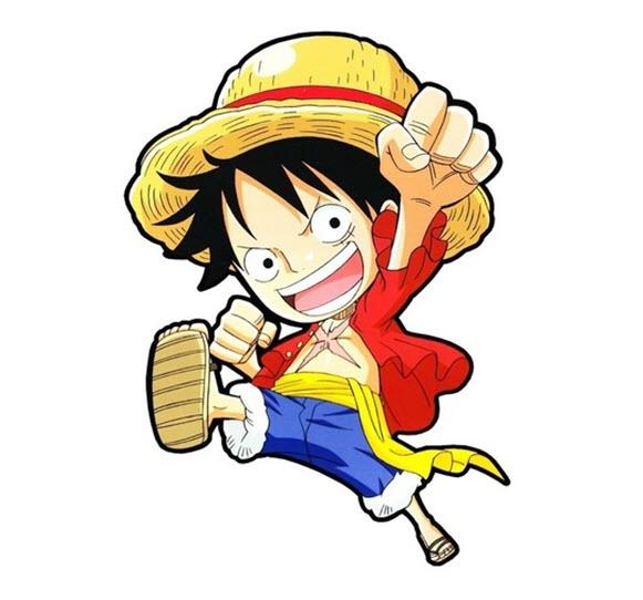 Hình ảnh Luffy chibi đẹp