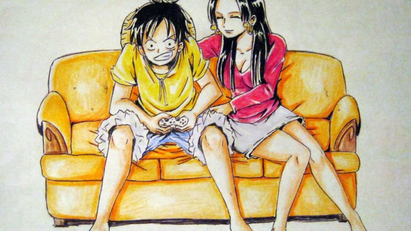 Hình ảnh Luffy đẹp đôi
