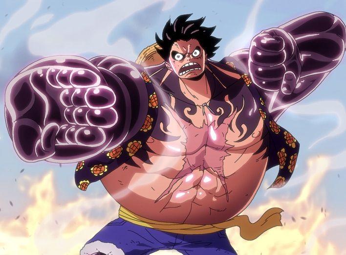 Hình ảnh Luffy gear 4