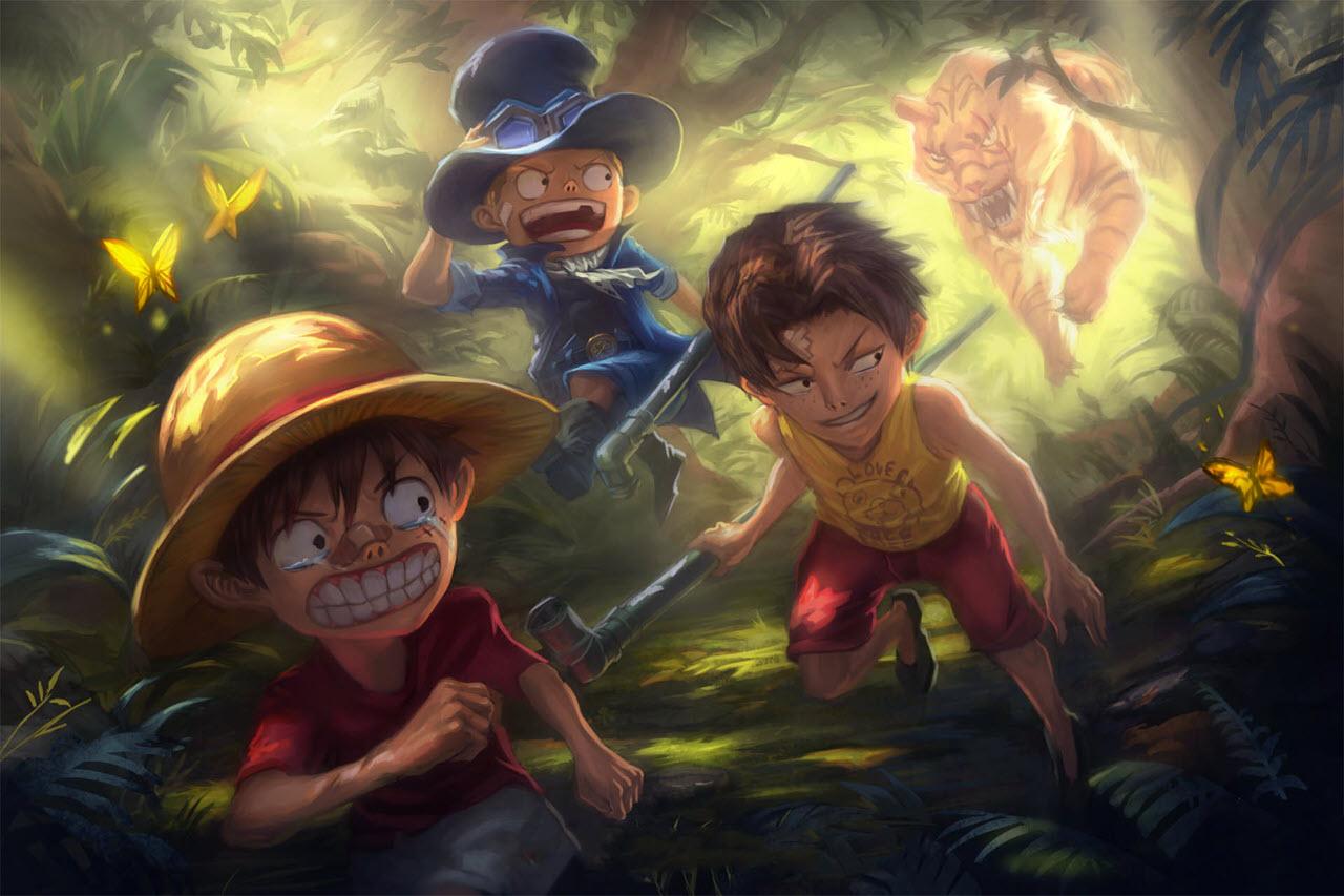 Hình ảnh Luffy hay và đẹp