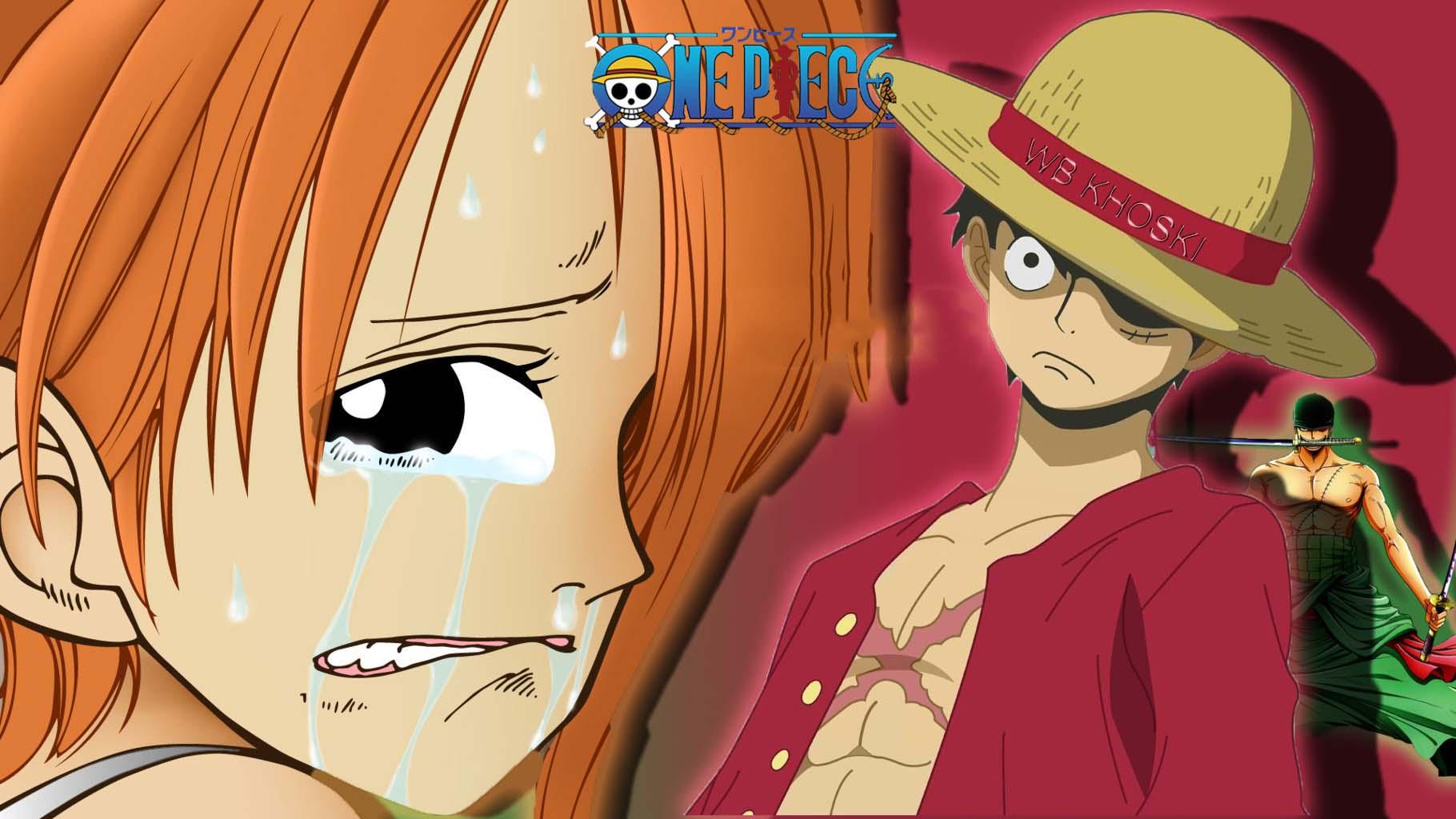 Hình ảnh Luffy Nami