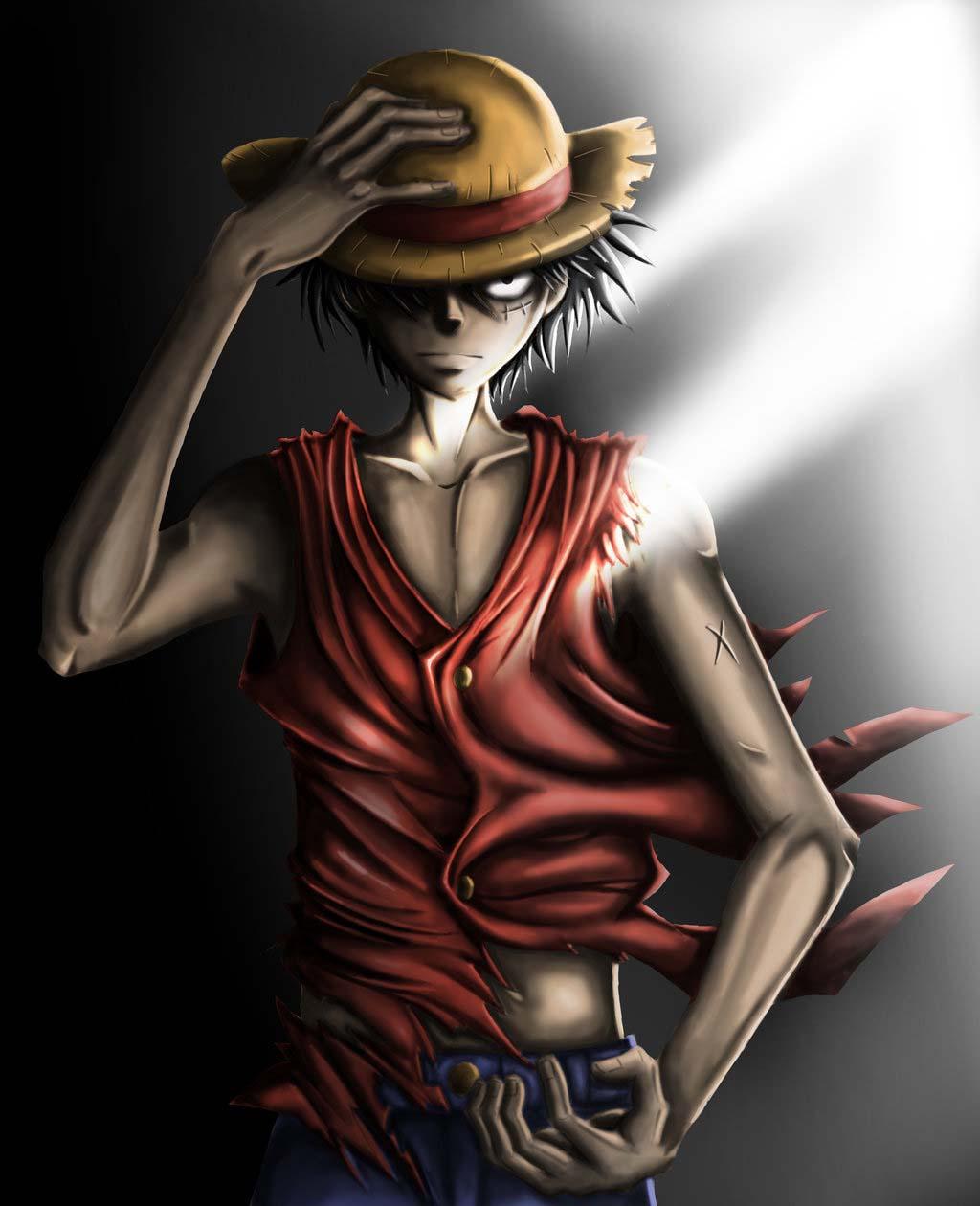 Hình ảnh Luffy ngầu