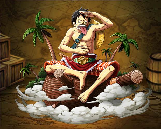 Hình ảnh Luffy ngộ nghĩnh