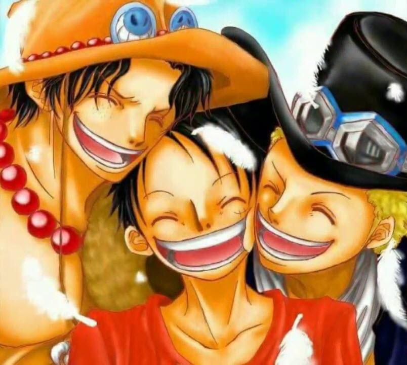 Hình ảnh Luffy Sabo ACE đẹp