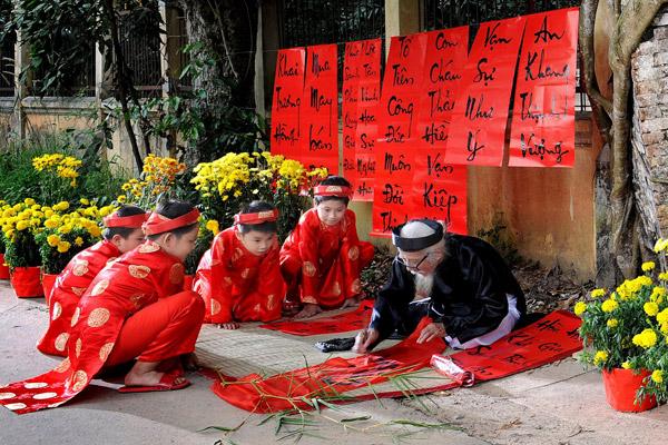 Hình ảnh miêu tả tết cổ truyền ở quê hương Việt nam đẹp nhất