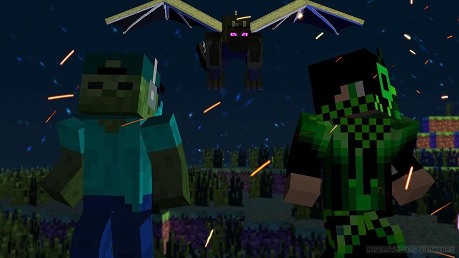 Hình ảnh Minecraft 3D đẹp và ấn tượng