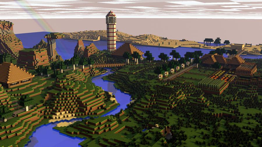 Hình ảnh Minecraft đẹp