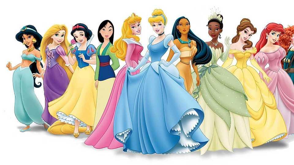 Hình ảnh những nàng công chúa xinh đẹp