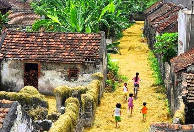 Hình ảnh quê hương Việt Nam ngày xưa tươi đẹp