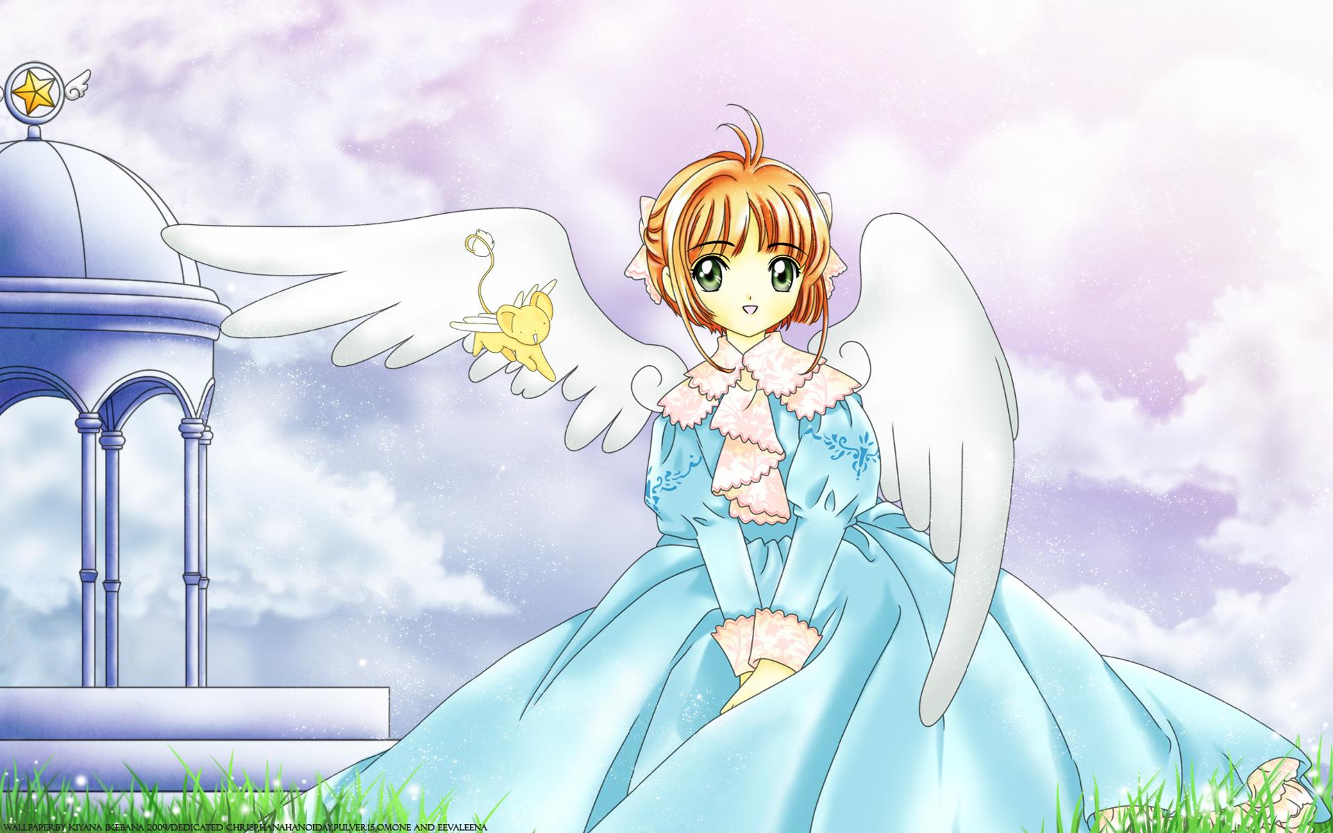 Hình ảnh Sakura đôi cánh thiên thần dễ thương nhất