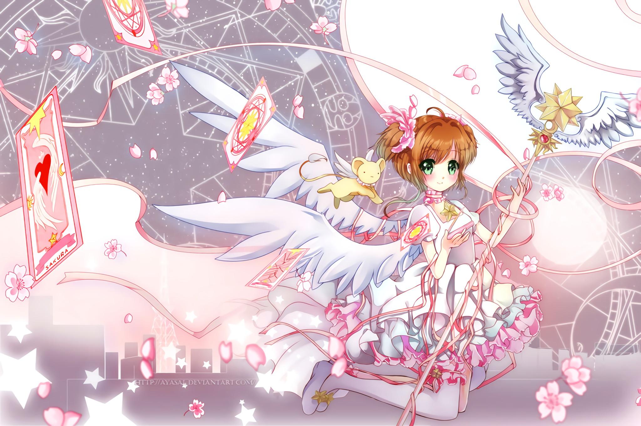 Hình ành Sakura đôi cánh thiên thần đẹp nhất