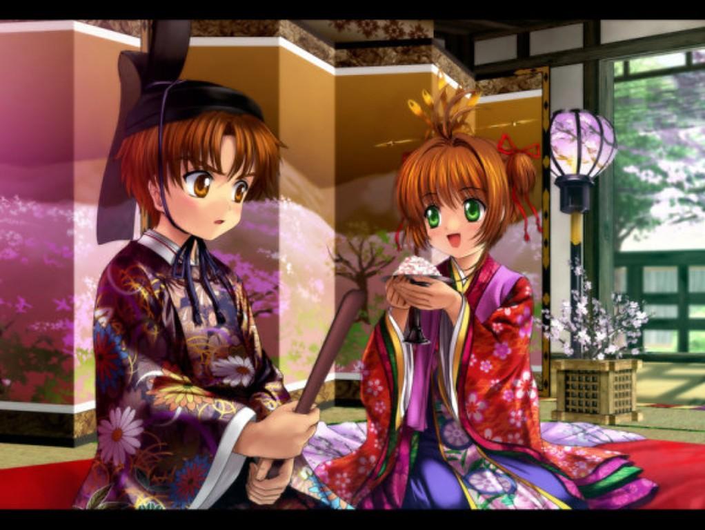 Hình ảnh sakura và syaoran cưới nhau đẹp nhất
