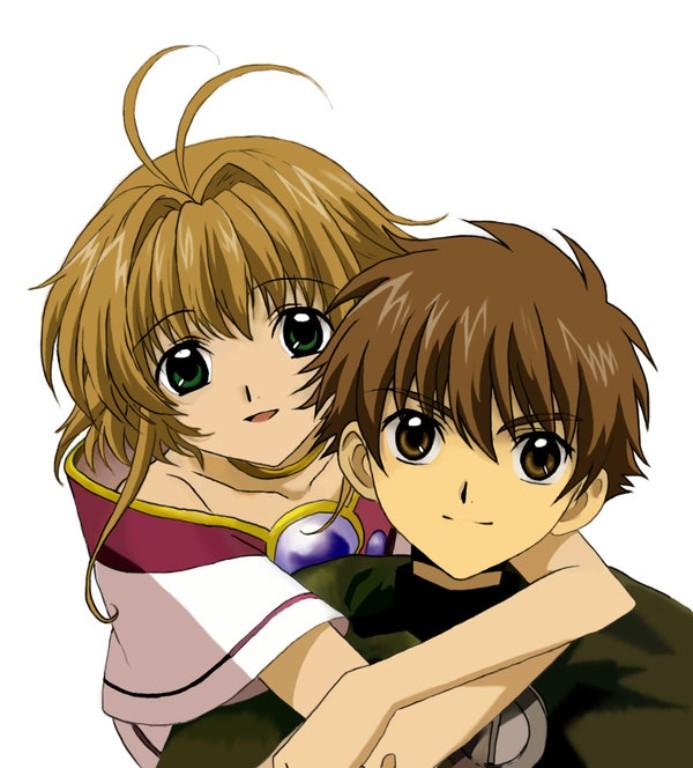 Hình ảnh sakura và syaoran dễ thương