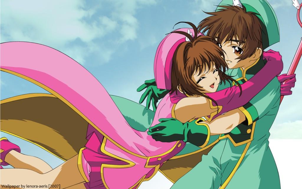 Hình ảnh sakura và syaoran ôm nhau đẹp nhát