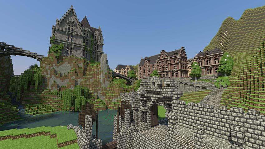 Hình nền hình ảnh Minecraft cho máy tính đẹp