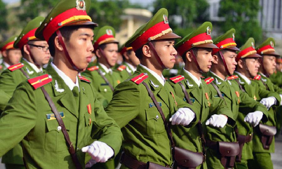 Lực lượng công an bộ đội Việt Nam