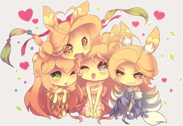 Những hình ảnh anime chibi dễ thương