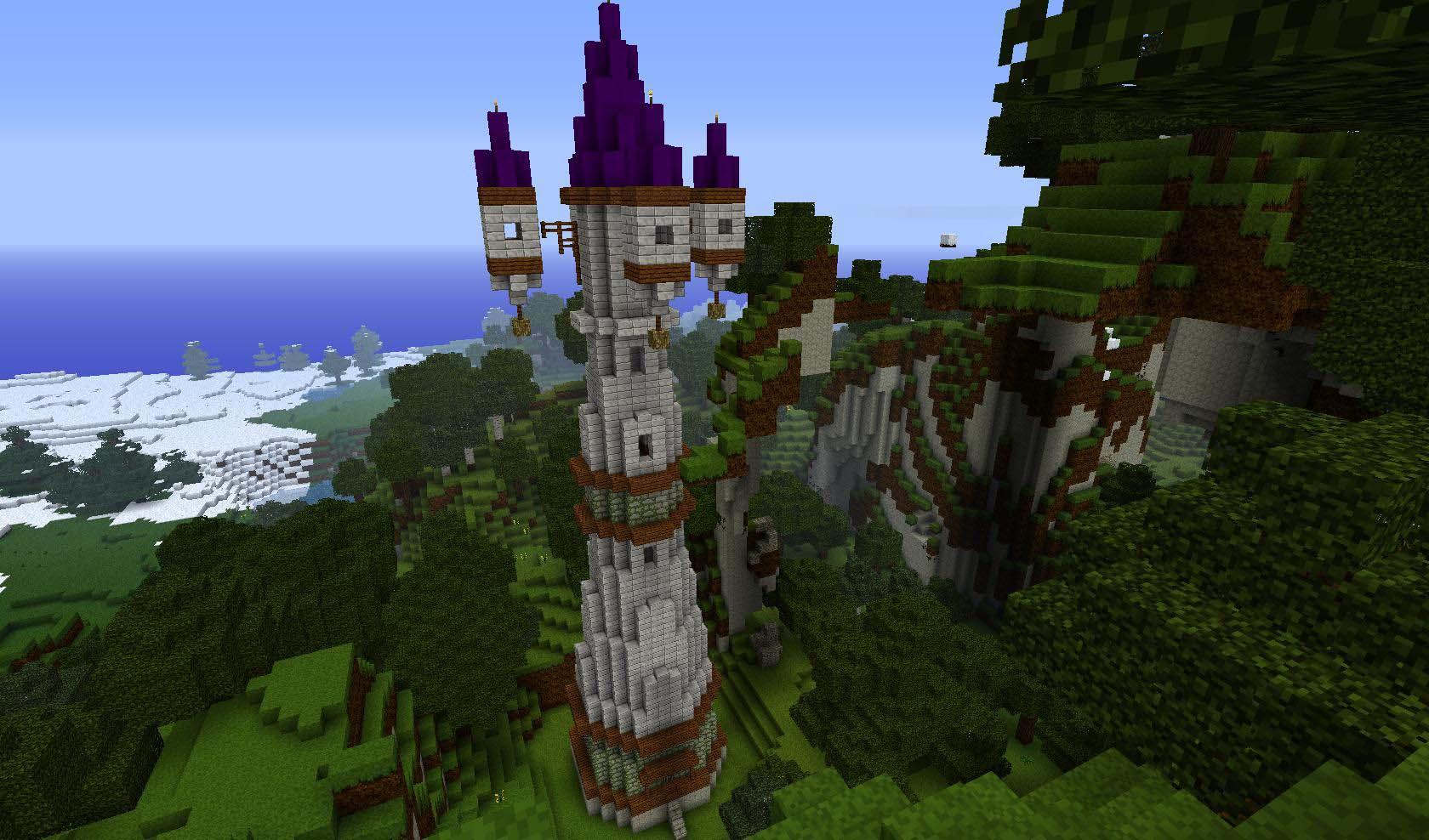 Những hình đẹp trong minecraft