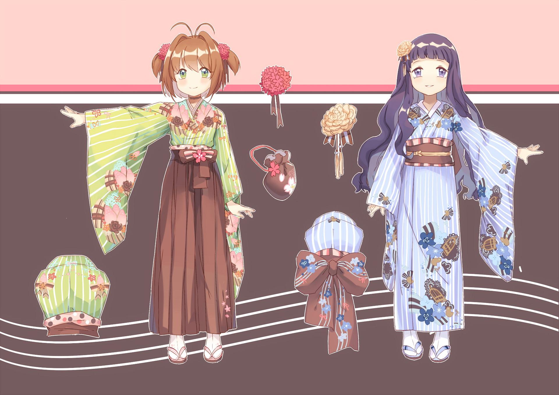 Sakura trong bộ trang phục truyền thống