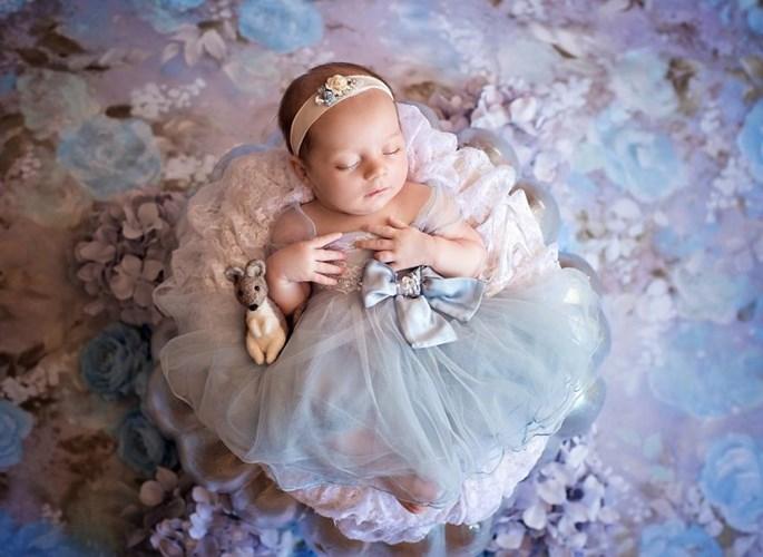Tan chảy với bộ ảnh đáng yêu của nàng công chúa bé bỏng