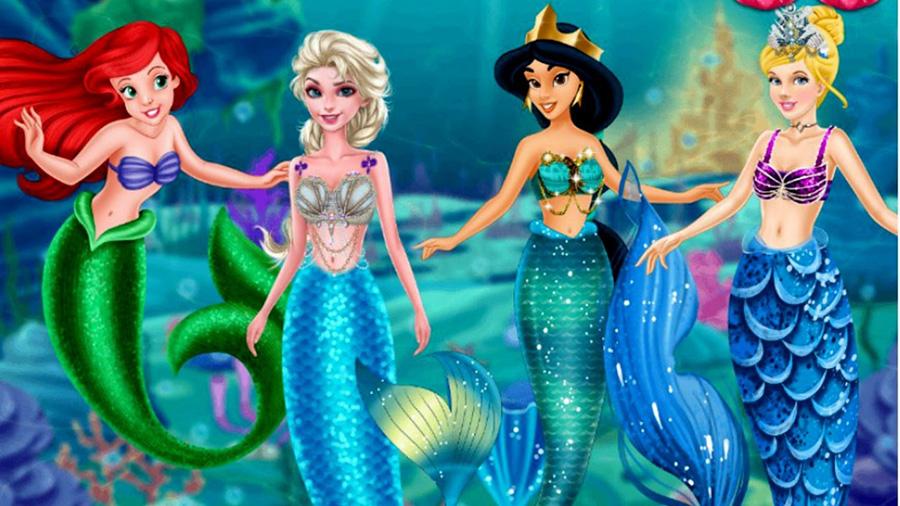 Tổng hợp những nàng công chúa tiên cá xinh đẹp