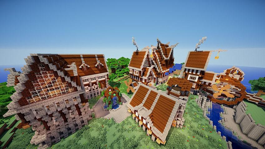 Tổng hợp những ngôi nhà trong game Minecraft đẹp nhất
