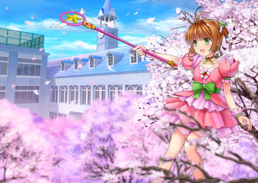 trang phục Sakura hình ảnh đẹp nhất