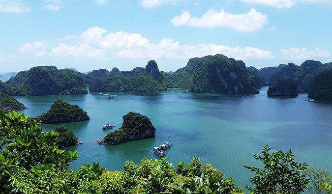 Vịnh hạ long kì quan của quê hương Việt nam