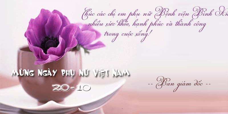 Gửi lời chúc ý nghĩa đến phụ nữ Việt nam ngày 20-10