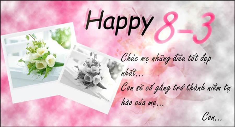happy 8-3 hình ảnh chúc mừng ngày quốc tế phụ nữ