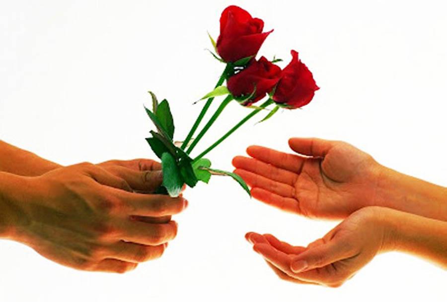 Hình ảnh bàn tay trao tặng yêu thương đến người thân yêu trong ngày 8-3 ý nghĩa