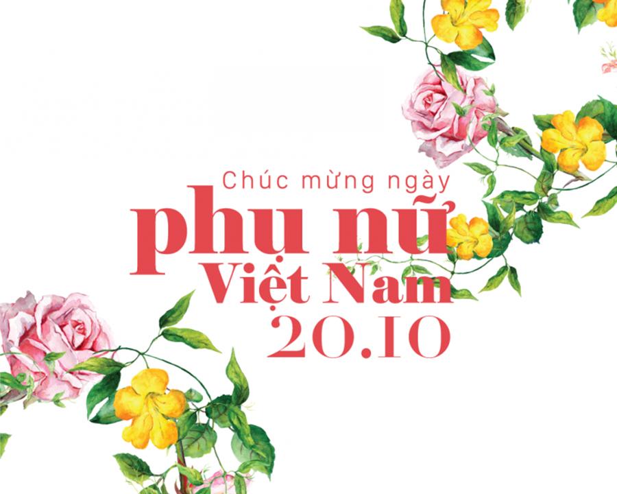Hình ảnh diễn văn ngày phụ nữ Việt nam 20-10 ý nghĩa nhất